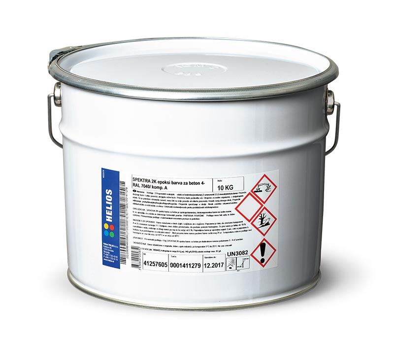 SPEKTRA 2K epoxy paint for concrete