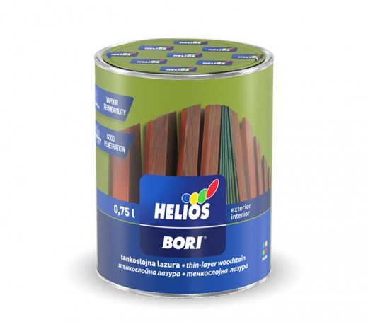 BORI thin-layer wood stain